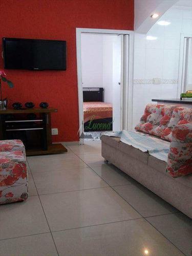 Apartamento No Centro C/ 1 Dorm. Revertido Em 2. Fino Acabamento. Estuda Proposta! - V6435