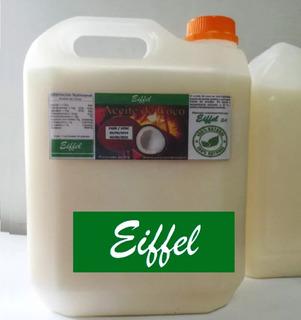 Aceite Coco Neutro Prensado Frío 10 Lts. Materia Prima