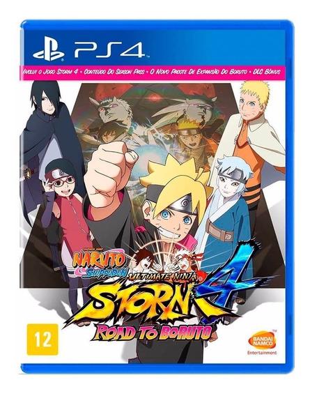 Jogo Ps4 Naruto Ultimate Ninja Storm 4 Road Boruto Lacrado