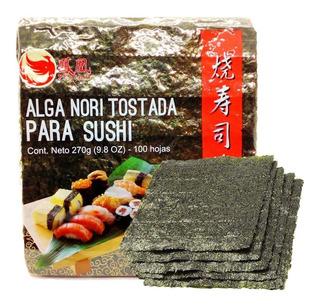 Algas Nori Tostada Sushi X100 El Mejor Precio Del Mercado