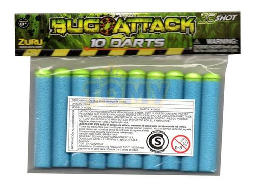 Dardos De Repuesto X-shot 10 Unidades