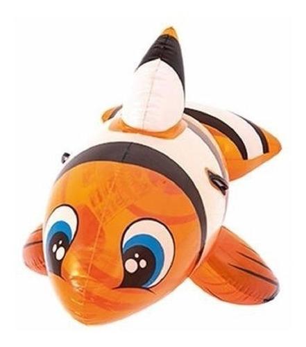 Inflable Flotador Pez Nemo Grande 1.57 X 0,94 Cm Bestway