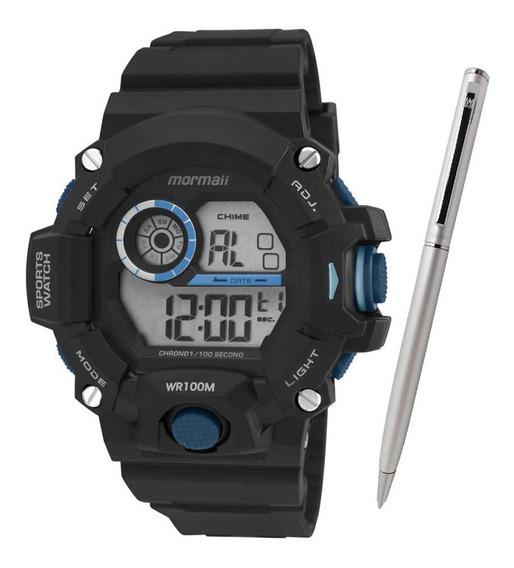 Relógio Mormaii Masculino Mo3412/8a C/ Garantia E Nf