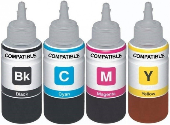 Kit Pack Tinta Premium Impresora Cartuchos Sistema Continuo