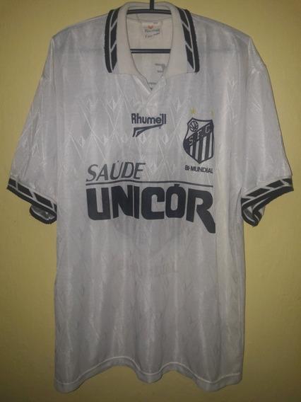 Camisa Do Santos 1996 (rhumell) 1996 Tamanho Gg