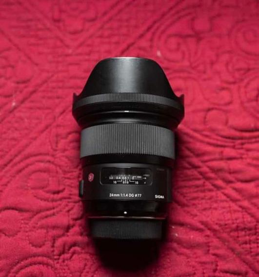 Lente Sigma 24mm F/1.4 - Nikon