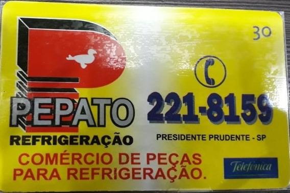 Mídia : Pepato Refrigeração - Telefônica - R$ 4,20 Reais