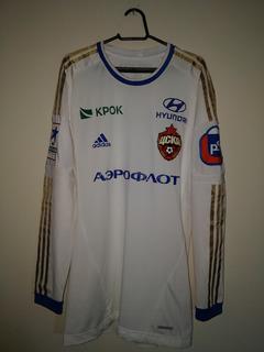Camisa De Jogo Cska Moscow - 2012 - adidas - #4 Ignashevich