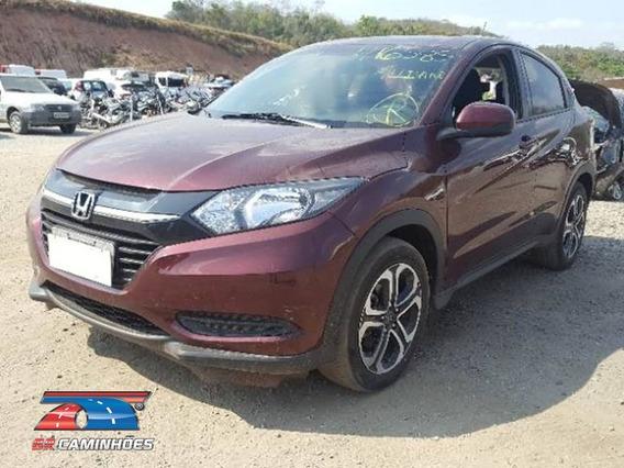 Sucata P/ Retirada De Peças Honda Hr-v 1.8 Lx Flex Aut. 5p