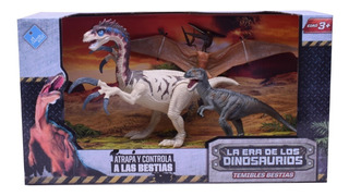 Dinosaurios Muñecos X 3 Varios Modelos El Duende Azul