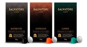 Kit 180 Cápsulas Salvatore Compatíveis Nespresso
