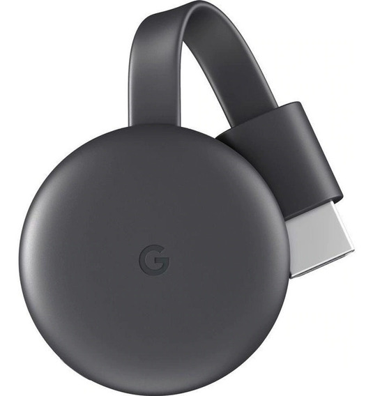 Chromecast 3 Streaming Media Player Smart Tv Full Hd
