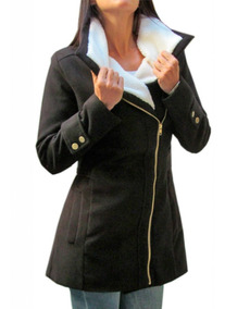 Tapado Mujer Campera Corderito Paño Saco Trench Abrigo Blaze