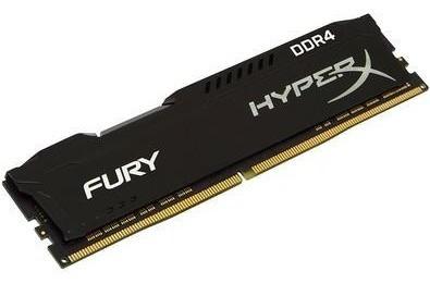 Memória Ram Hyperx Fury Black Ddr4 16gb 2666mhz Cl16