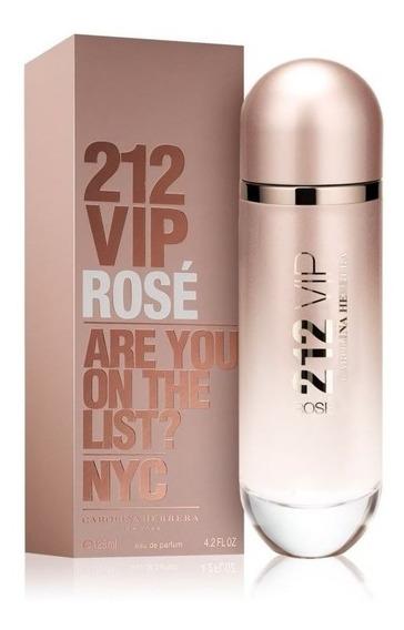 212 Vip Rosé Feminino Eau De Parfum 125ml