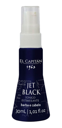 Tonico Estimulante Jet Black 30 Ml  El Capitan