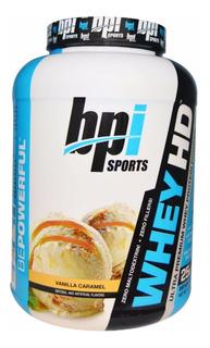 Whey Protein Hd - 907g - Vanilla Caramel - Bpi Sports