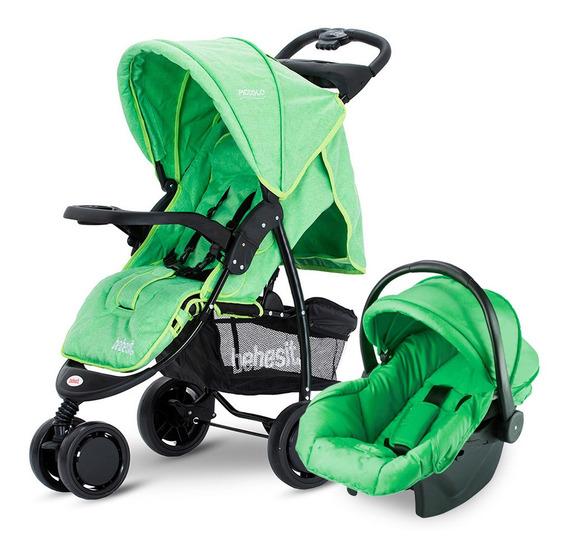 Cochecito De Bebé Bebesit Piccolo 1430ts Negro Y Verde