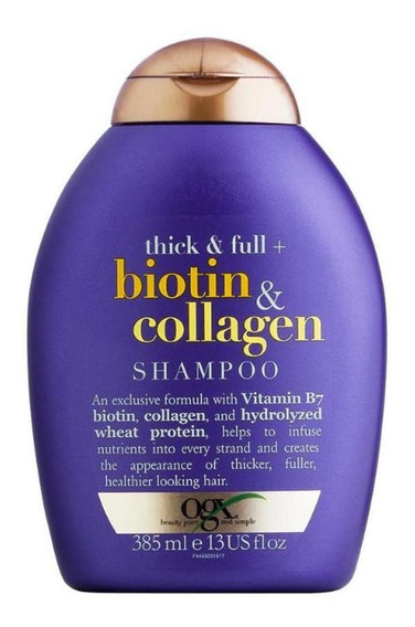 Shampoo Ogx Biotin & Collagen 385 Ml