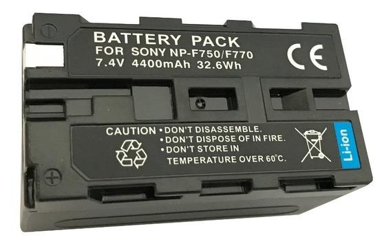Bateria Np-f750 / Np- F770 Para Sony E Iluminadores De Led