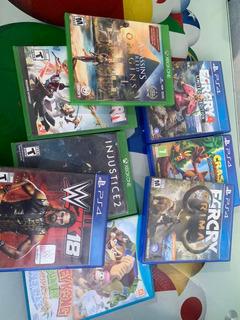 Desde S/40!!! Juegos Ps4, Xb1, Wii U.
