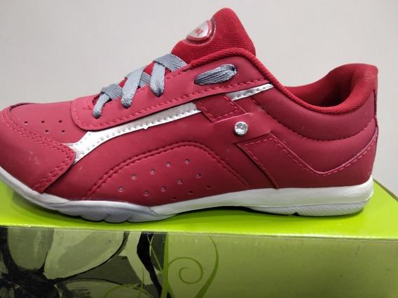 Tenis Ferma Casual A1403 Vermelho