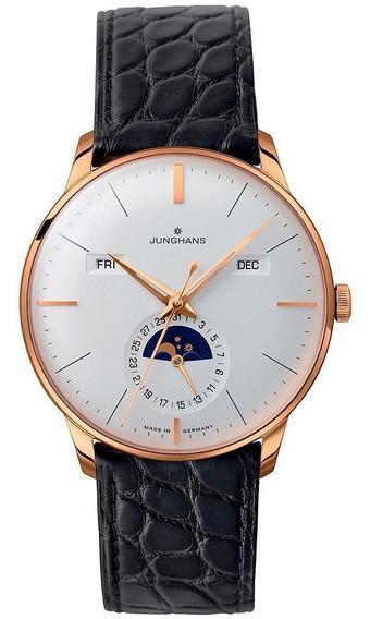 Reloj Junghans Meister Kalender Original Jh027720301