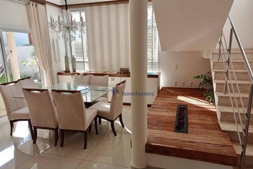 Casa Com 4 Dormitórios À Venda, 308 M² Por R$ 2.585.000,00 - Residencial Estância Eudóxia - Campinas/sp - Ca4306