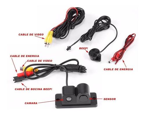 Camara De Retro Con Doble Sensor De Retro Incluido Oferta