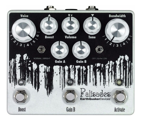 Palisades Mega Ulimate Overdrive Earthquaker Devices