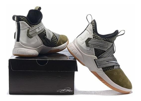 *leia A Descrição* Nike Lebron Soldier 12 Varias Cores Na Cx