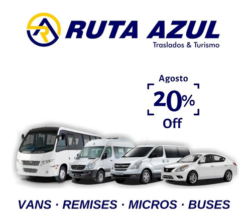 Micro Turismo Omnibus Excursion Viajes Camioneta Van Paseos