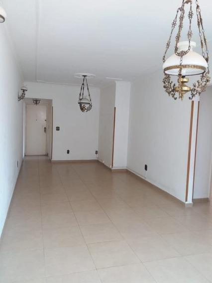 Apartamento Com 2 Dormitórios Para Alugar, 124 M² Por R$ 2.300/mês - Campo Grande - Santos/sp - Ap7637