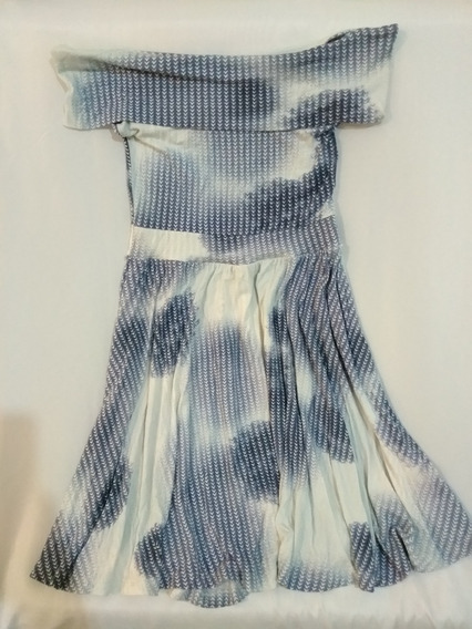 Vestido Azul Tomara Que Caia Hering - Vestido Soltinho