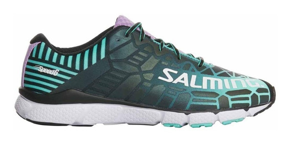 Zapatillas Salming Speed 6 Shoe Mujer Running Reflectantes