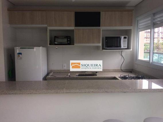Apartamento Com 1 Dormitório Para Alugar, 38 M² Por R$ 1.700,00/mês - Parque Campolim - Sorocaba/sp - Ap1115