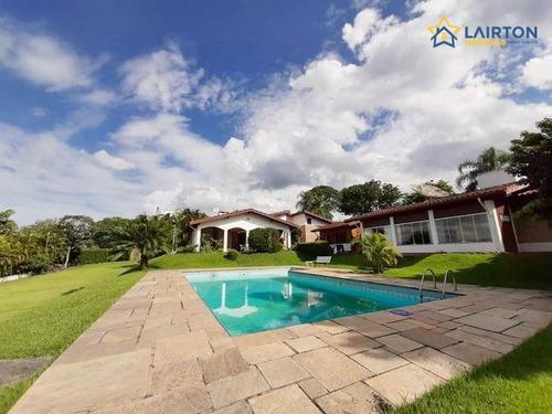 Chácara Residencial À Venda Em Condomínio Fechado, Usina, Atibaia. - Ch1079