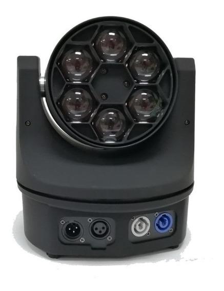 Luz Robotica Led 4 En 1 Ojo De Abeja 6*15w Dmx 512 Rgbw