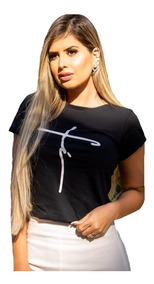 Kit 10 T Shirts Blusas Feminina Roupa Atacado