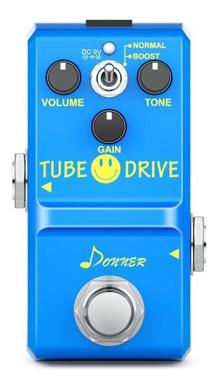 Pedal Donner Overdrive Tube Drive Nano(ibanez/mxr/fulltone)