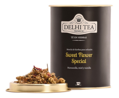 Te Hebras Delhi Tea Premium Lata Sweet Flower