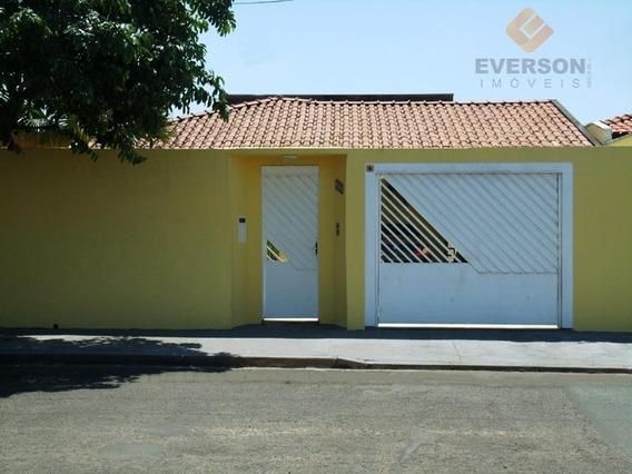 Casa Residencial À Venda, Jardim América, Rio Claro. - Ca0452