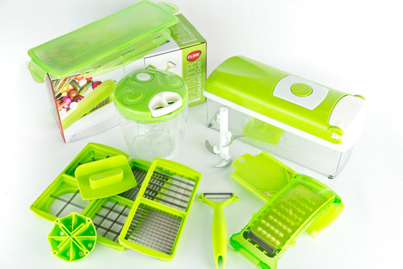 Cortador Nicer Dicer Plus + Triturador Manual De Alimentos