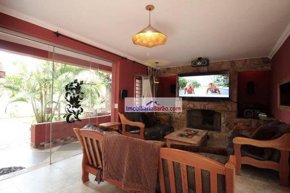 Casa Com 8 Dormitórios À Venda, 700 M² Por R$ 1.600.000,00 - Cidade Universitária - Campinas/sp - Ca1373