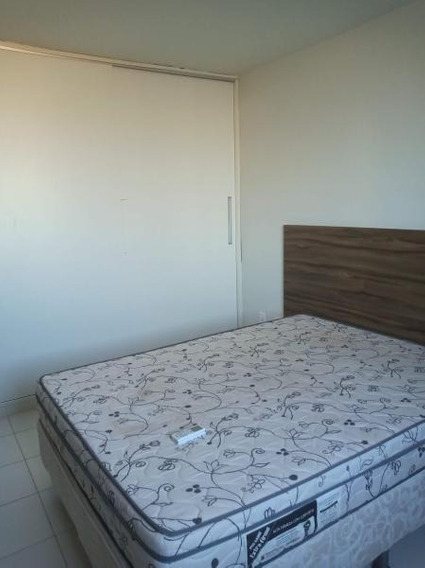 Flat Para Locação Em Lauro De Freitas, Vilas Do Atlântico, 1 Dormitório, 1 Suíte, 2 Banheiros, 1 Vaga - Vs501_2-1009463