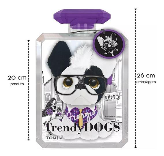 Pelúcias Perfumadas Trendy Dogs Grande G 20cm Giorgio Fun