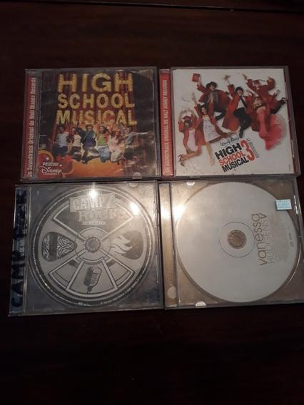 Lote Cds High School Musical 1/3, Vanessa Hudgens /camp Rock