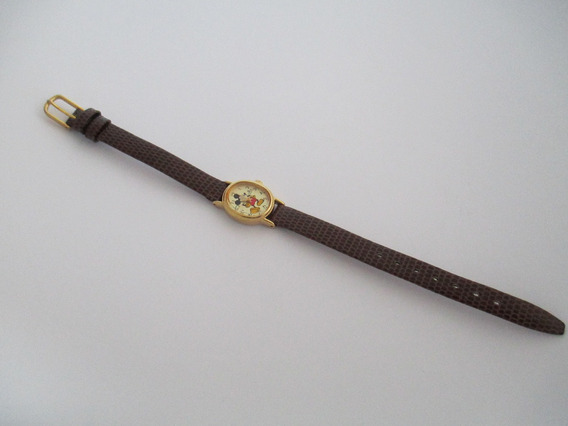 Relógio Mickey Mouse - Vintage - Autêntico E Perfeito