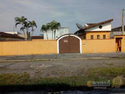 Casa Com 2 Dorms, Balneário Itaguai, Mongaguá - R$ 280 Mil, Cod: 7174 - V7174