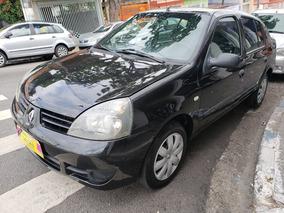 Renault Clio Expression Sedan 1.0 16v Flex 2007 Completo!
